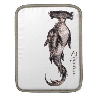 Dibujo náutico del libro de la vida marina del vin fundas para iPads