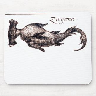 Dibujo náutico del libro de la vida marina del vin tapetes de raton