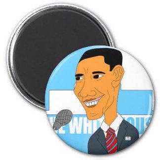 Dibujo Obama 2012 Iman Para Frigorífico