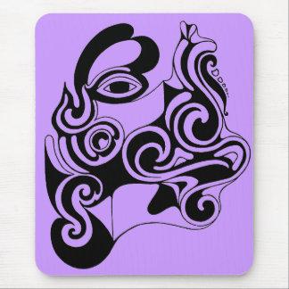 Dibujo original de la fantasía céltica tapete de ratón