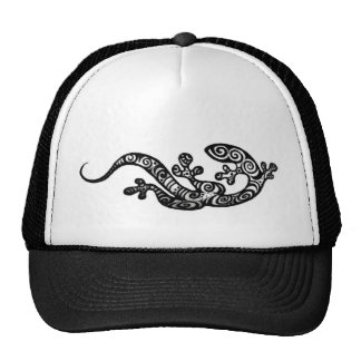 Dibujo original del gorra del Gecko de la alheña d