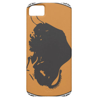 Dibujo prehistórico español del bisonte iPhone 5 funda