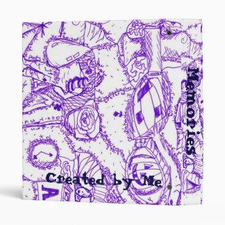 """Dibujo púrpura de la tinta del mundo púrpura de ar carpeta 1"""""""