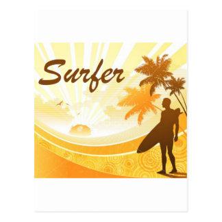 dibujo-surf_7 postcard