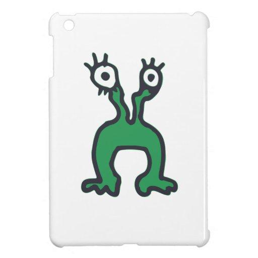 Dibujo verde del monstruo