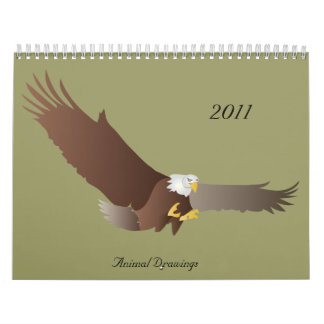 Dibujos animales, 2011 calendarios de pared