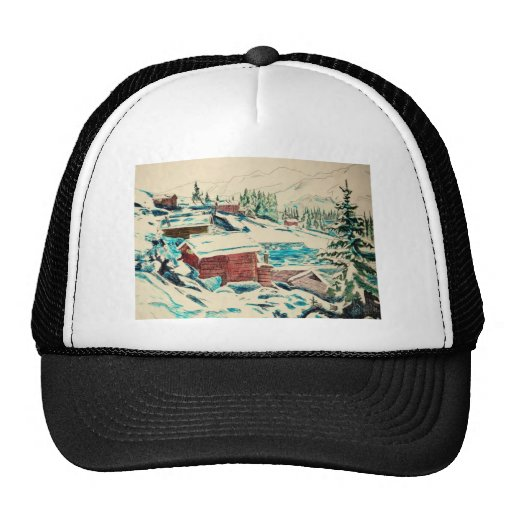 Dibujos del arte del ciervo viejos y nuevos 133 gorras de camionero