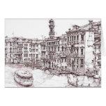 Dibujos italianos de la arquitectura tarjetas