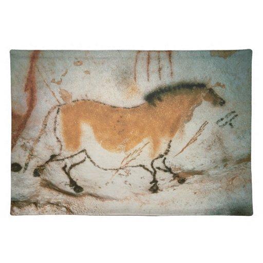 Dibujos prehistóricos franceses de Lascaux de los Mantel Individual