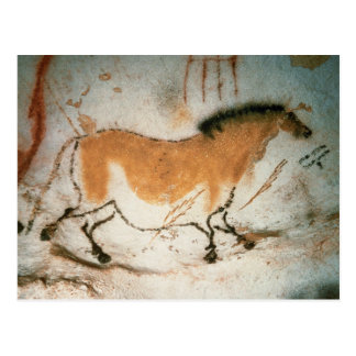 Dibujos prehistóricos franceses de Lascaux de los Postal