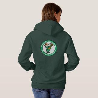 DIC Logo Women's Green Hoodie