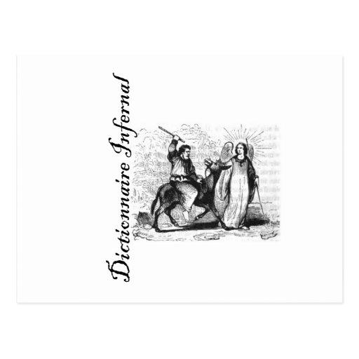 Diccionario infernal - probablemente Balaam/burro/ Postales