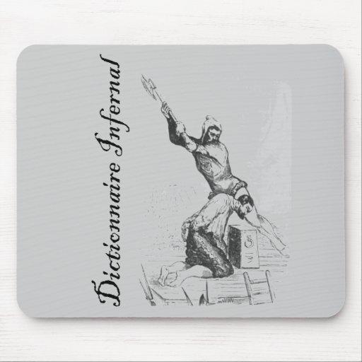 Diccionario infernal - una decapitación agradable mousepads