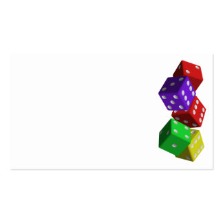 dice-161377  dice game luck gambling cubes red vio business cards