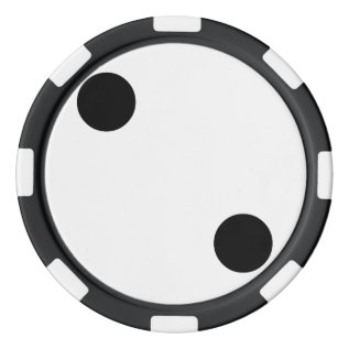 Dice 2 Set Of Poker Chips at Zazzle