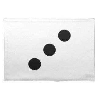 Dice 3 cloth placemat