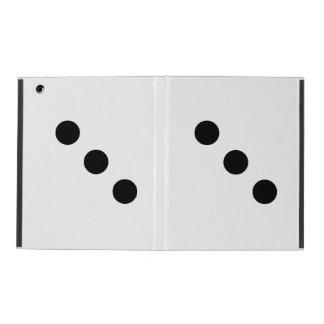 Dice 3 iPad folio case