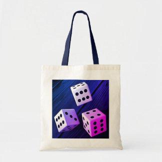 Dice 3D Tote Bag