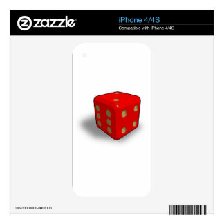 dice-411 skins for the iPhone 4