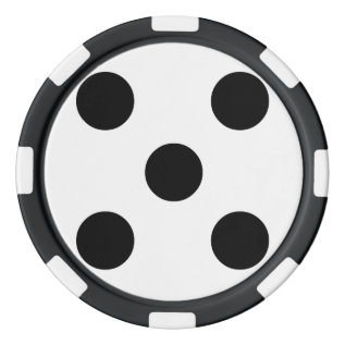 Dice 5 Poker Chip Set at Zazzle