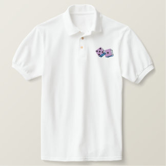 DICE 7 EMBROIDERED POLO SHIRT