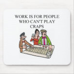 dice and  craps players mouse mat