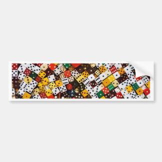 Dice Bumper Sticker