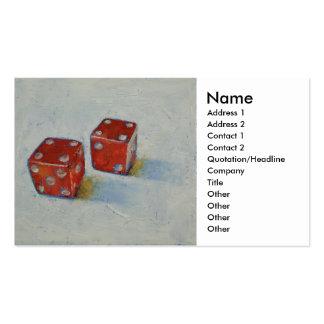 Dice Business Card