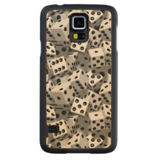 Dice Carved® Maple Galaxy S5 Case
