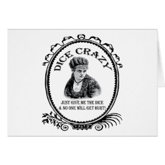 Dice Crazy Card