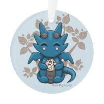 Dice Dragon Ornament