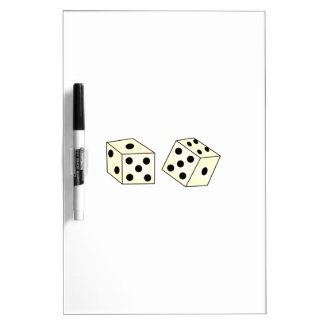 DICE Dry-Erase WHITEBOARDS