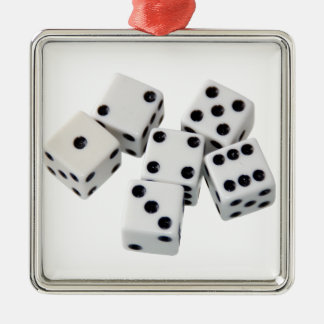 Dice Games Christmas Tree Ornament