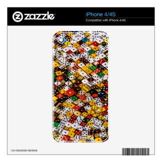Dice iPhone 4S Decal
