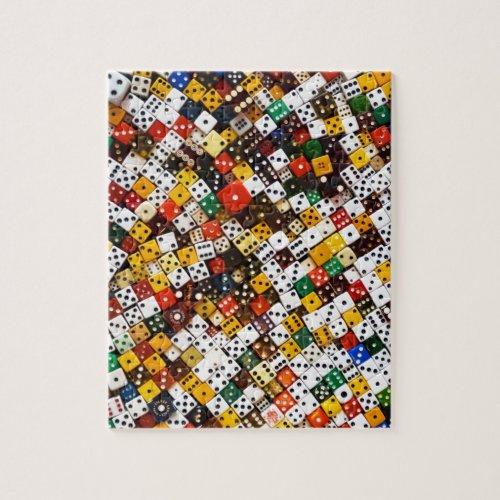 Dice Jigsaw Puzzle
