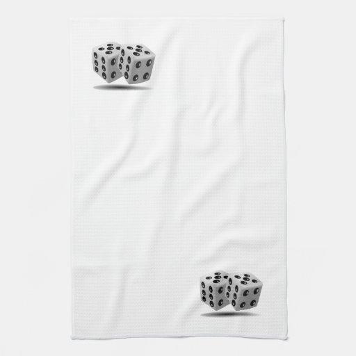 Dice Hand Towel