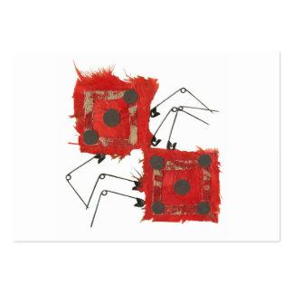 Dice Ladybug Business Cards