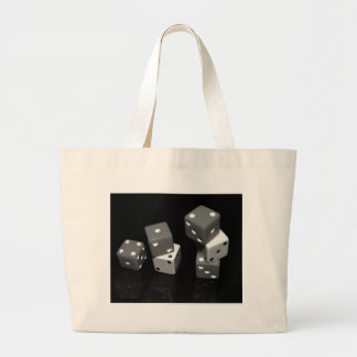 Dice Large Tote Bag