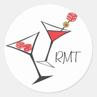 Dice Martini Stickers