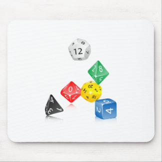 Dice Mouse Pad
