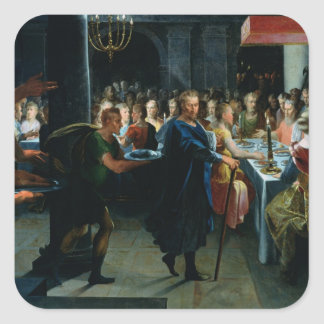 Dice Offering a Banquet to Francus Sticker