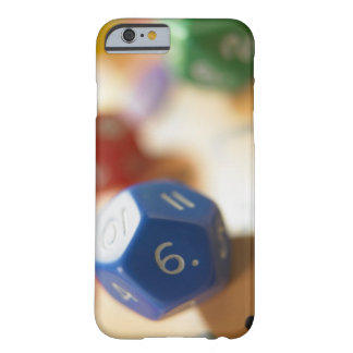 Dice on math game barely there iPhone 6 case