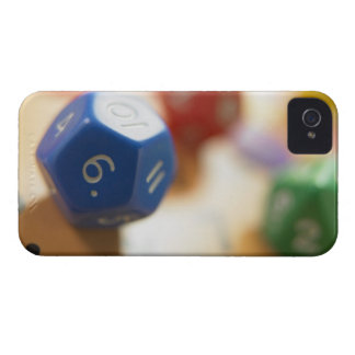 Dice on math game iPhone 4 cover