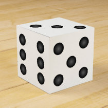 Dice or Die Wedding Party Favor Box