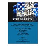 Dice Party Invitations
