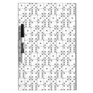 DICE PATTERN Dry-Erase BOARDS