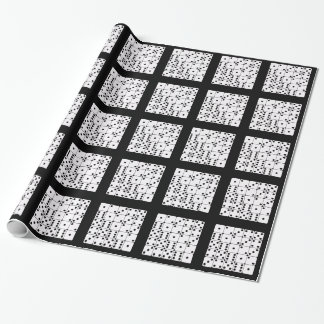DICE PATTERN WRAPPING PAPER