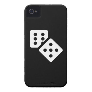 Dice Pictogram iPhone 4 Case