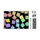 Dice Rainbow Stamp