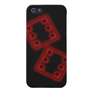 Dice six sixes roll of the dice die di gamble iPhone SE/5/5s case